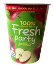 100% ovocné šťávy lisované z čerstvého ovoce Fresh party